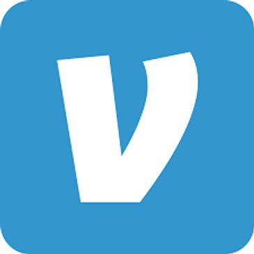 Download the Venmo app, link to your bank or credit card, and pay via your phone!