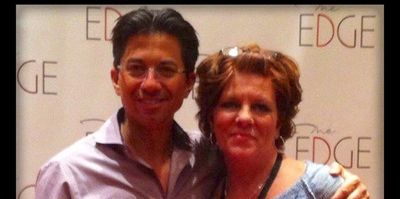 Carol Stinson with Dean Graziosi