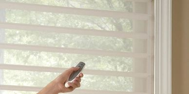 Omaha Motorized Window Treatments | Custom Automatic Window Covering | Remote Control Blinds Shades