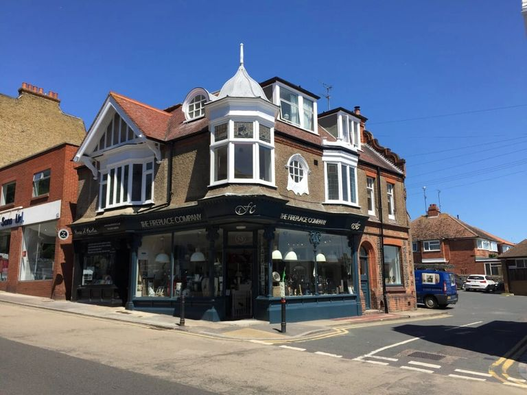 THE FIREPLACE COMPANY, 58 HIGH STREET, BROADSTAIRS, KENT, CT10 1JT.