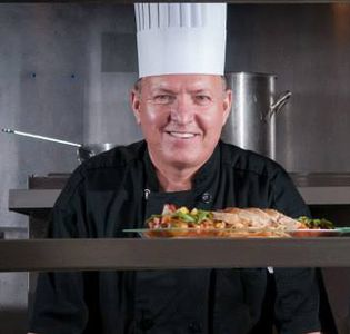 Photo of Chef Pavel owner/chef of Cremesh European Restaurant in Bradenton, Florida