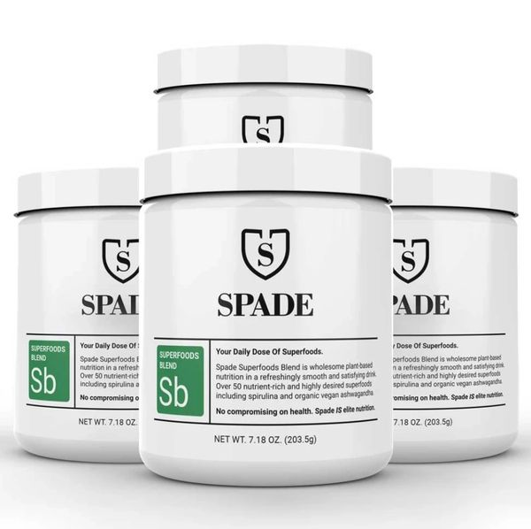 Spade superfood drink for optimum nutrition and weight loss.