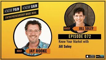 Know Pain No Gain interview with Jill Soley, Author of Beyond Product