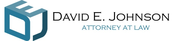 David E. Johnson, Attorney-at-Law