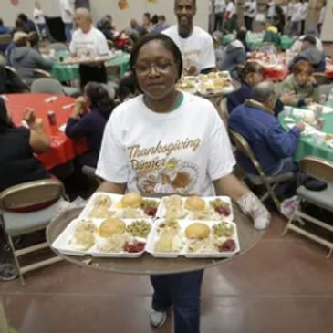 Annual Thanksgiving Feed the Homeless Program