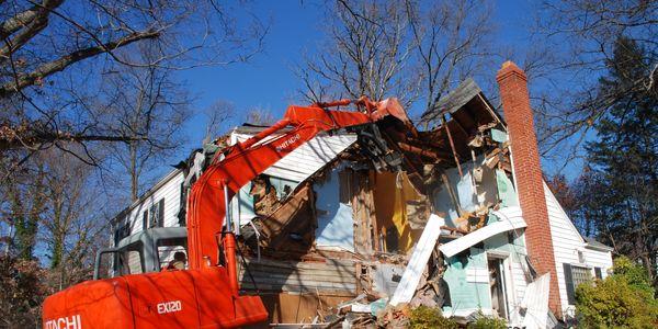 Demolition Excavation Dumpster Rental Rock Creek