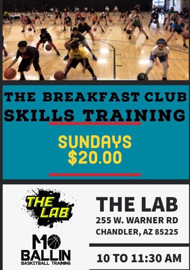 The Moballin Breakfast Club 10am-11;30am Every Sundays Location: AT THE LAB 255 W