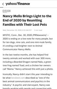 2020 is ending on a low note for many people, but for ten dogs, nine cats, and one mini-mule family,