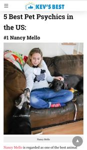 Nancy Mello is regarded as one of the best animal communicators in the U.S