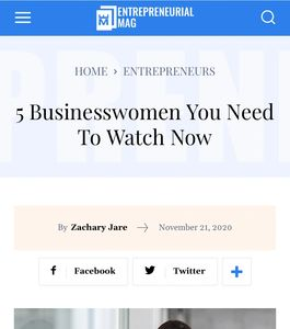 Nancy Mello was named top Businesswomen You Need To Watch Now