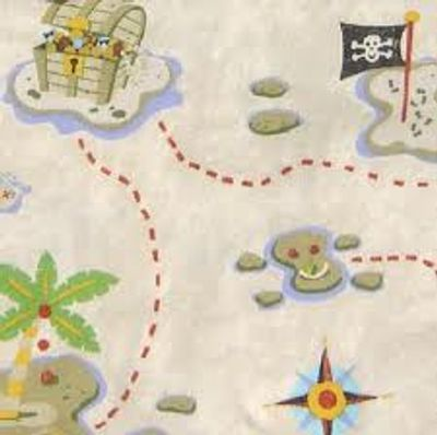 Treasure maps lead to a life full of discoveries!