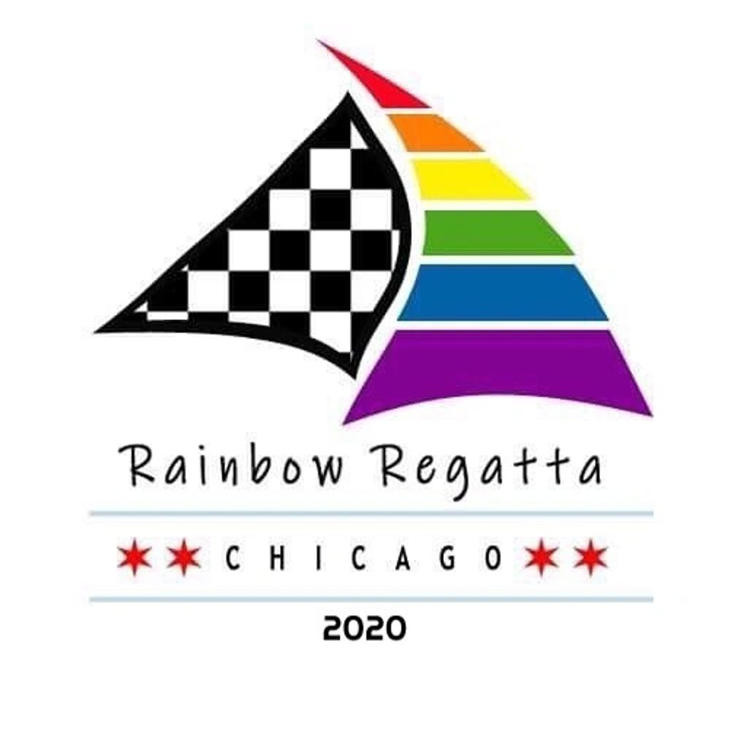 Rainbow Regatta Chicago charity sail boat race.