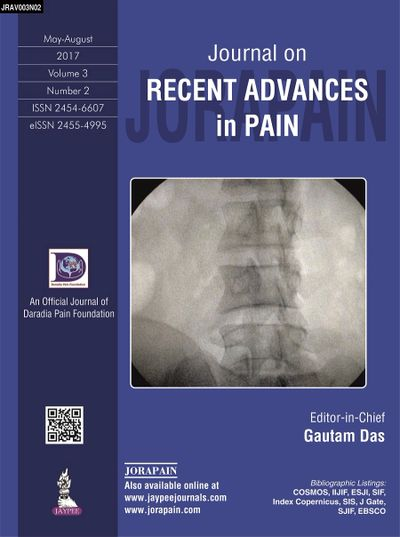 Journal on Recent Advances in Pain by Daradia