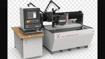 omax waterjet cutting machines