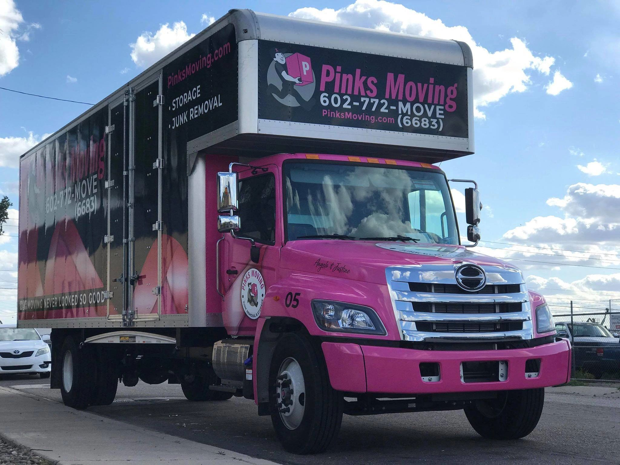 PINKS MOVING IS THE BEST MOVING COMPANY IN SCOTTSDALE