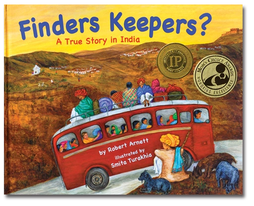 Finders Keepers? is a character education and multicultural India children's book. Teaches diversity
