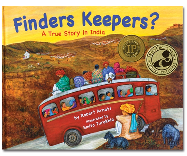 Image award-winning character education and multicultural India children's book. Teaches diversity.