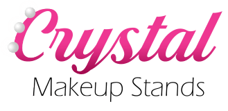 Crystal Makeup Stands