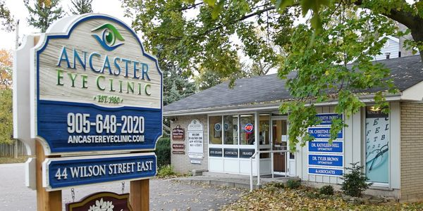 Ancaster eye clinic building
