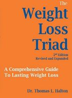 This is a picture of Dr. Halton's Book, The Weight Loss Triad, 2nd Edition