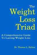 The cover of Dr. Halton's book, The Weight Loss Triad
