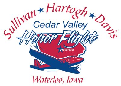 Cedar Valley Honor Flight logo