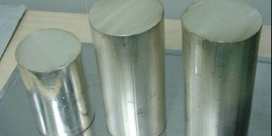 Lithium Ingots used in Lithium Foil Extrusion, as well as many other Lithium material applications.