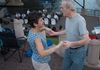 Swing Dancing to Simply Swing at Riverfront Recapture's Mortensen Plaza, Hartford.