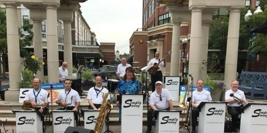 Simply Swing, Swing Band, Concert, Big Band, Live Music, Corporate events, Jazz, Ballroom dancers
