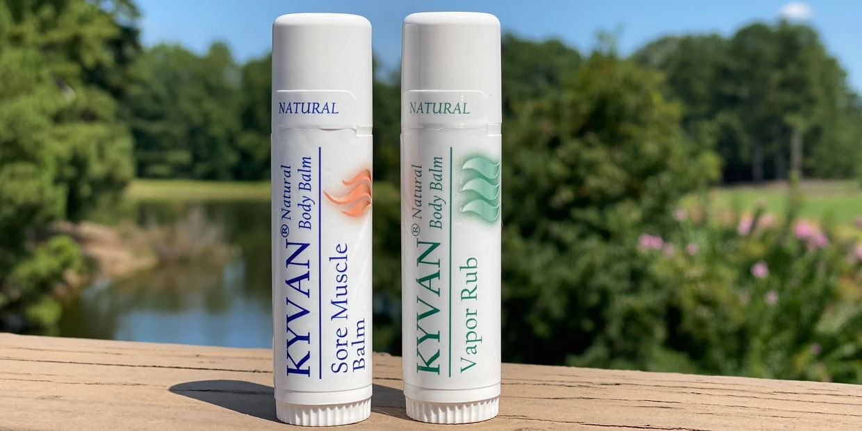 KYVAN Sore Muscle Balm and Vapor Rub Natural Ingredients