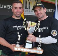 csaf lightweight champion 2019 moncton dale andrew with bryan maclean highland games heavy events