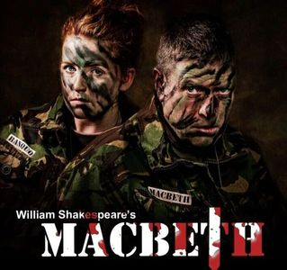 Macbeth and Banquo in modern military uniform