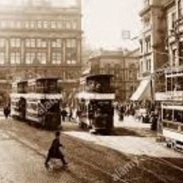 Belfast City Centre trams, 1920