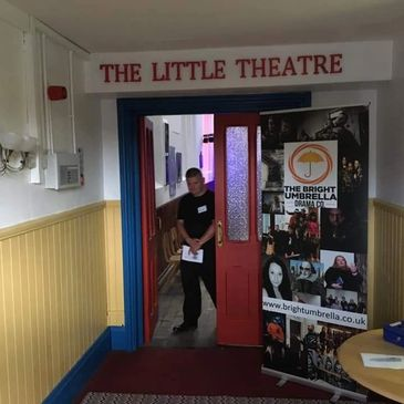 Entrance to The Little Theatre
