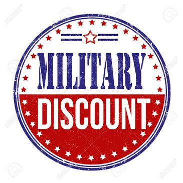 CBD discount for military
