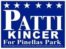 Patti Gail Kincer For Pinellas Park City Council