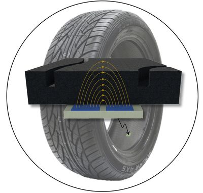 IntelliTread tire depth sensor