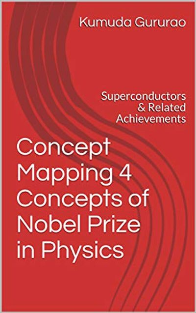 Book cover for 'Concept Mapping 4 Concepts of Nobel Prize in Physics...'