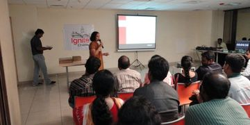 Advisor2U's speech on 'Ignite Chennai' at Thought Works