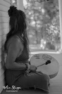 drum circle sisterhood tribe sacred feminine goddess massage therapist yoga Christy miu Athens tn