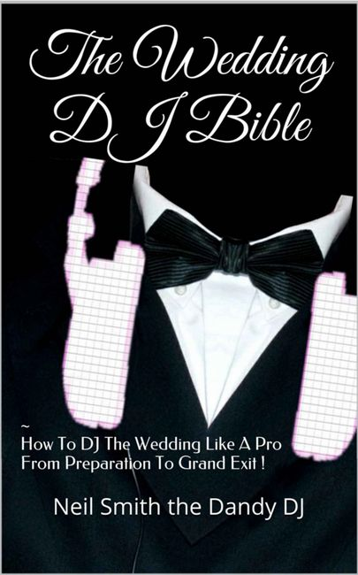 wedding dj bible book cover