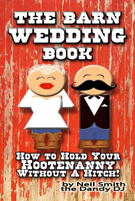 barn wedding book cover