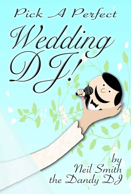 pick a perfect wedding dj book cover