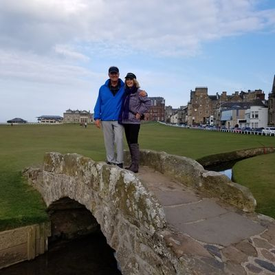 JB and Coby visit St Andrews, Scotland  and play the Old Course in 2018 ...