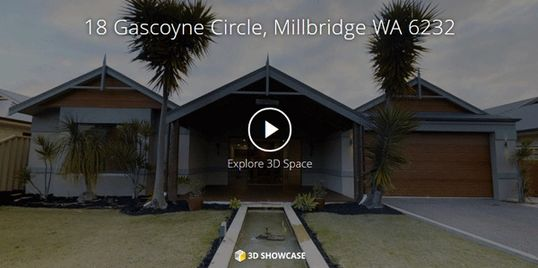 Plan 2 Move 3D Showcase Virtual tour produced by plan 2 move of home in Millbridge WA