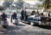 PIC OF THE WEEK 7/9/18 - 12:30pm Nov 22, 1963 - Seconds before shots rang out in Dealey Plaza.  Photo by Phil Willis.