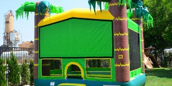 Palm Tree Moon Bounce- NEW for Summer 2020