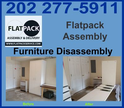 Furniture & Sofa Disassembly Service in Washington DC Disassembly & Dismantling Service Same Day