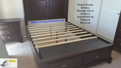 Pickett house bed assembly service in Baltimore, MD by Flatpack Assembly 240 603-2781