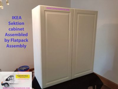 IKEA Sektion cabinet assembly in Washington DC, Arlington, VA Bethesda, MD NYC by Flatpack Assembly